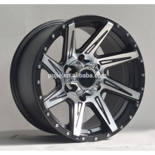 4x4 concave black alloy wheels