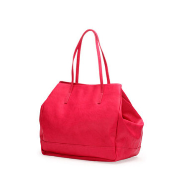 Handmade New Woman PU Handbag 2015 Fashion Designer Lady Bag
