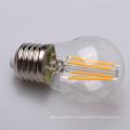 Ampoule de filaments de verre de 2W 4W G45 E27 LED