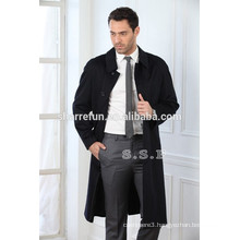 China factory customize 100% pure cashmere men winter coats