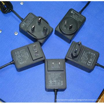 Adaptador do poder de 5V 3A 6V3a 9V 2.6A 10V 2.4A 12V 2A 15V 1.6A 24V 1A