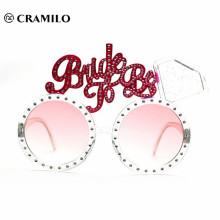 розовые большие солнцезащитные очки с днем рождения