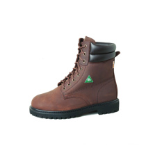 "CSA 8"" Brown Work Boots"