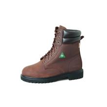 """ККА 8"""" коричневый рабочие ботинки"""