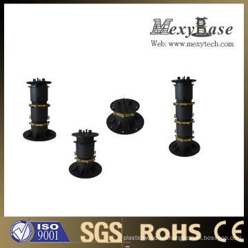 Pedestal para azulejos de cerámica Foshan, pedestal de plástico ajustable en altura.