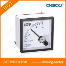 96X96mm Cos Meter Analog Panel Meter