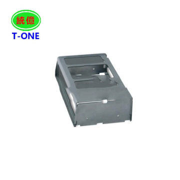 China OEM custom steel sheet metal aluminum plastic fabrication ultrasonic bracket mounting