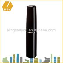 Tubo de lápiz labial de plástico maquillaje estético hermético Slim