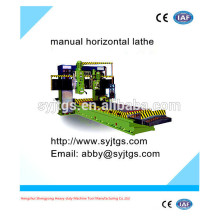 High speed manual horizontal lathe machine price for sale