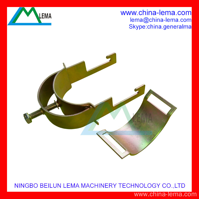 Galvanized steel cable clamp