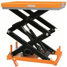 Fixed hydraulic mini scissor lift platform