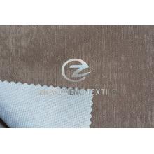 Terciopelo brillante unido con tejido de punto para ropa