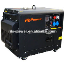5kw Бесшумные дизельные переносные генераторы электроэнергии