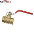 GutenTop Two way Lead Free Forged Brass Ball Valve PN25 with Long Handle