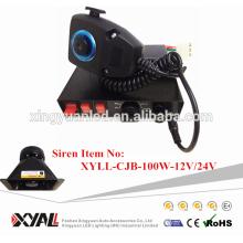 El altavoz auto de la sirena del coche teledirigido inalámbrico 100w se utiliza togather para las barras ligeras