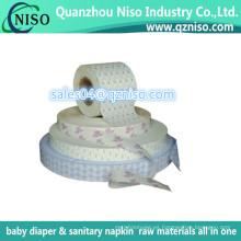 Papel de liberación de cinta adhesiva, papel de liberación impreso para toallas sanitarias