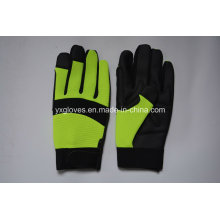 Safety Glove-Synthetic Leather Glove-Industrial Glove-Labor Glove-Mechanic Glove-Working Gloves