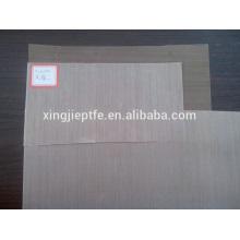 China fábrica de grosso teflon de algodão grosso tecido revestido