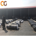 Length 1800mm RP Graphite electrodes for steelmaking