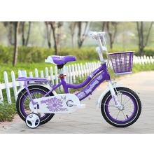 Rotes Rohr-Kinderfahrrad / Qualitäts-Kinderfahrrad mit 4 Rad-Fahrrad / übung Kind-Fahrrad