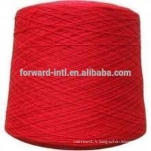échantillons de fil libre de fil de polyester filé de bonne résistance