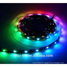 Adressable 32led IP65 magie rêve numérique couleur rgb led bande lumière 5 v ws2801