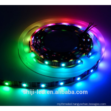 Addressable 32led IP65 magic digital dream color rgb led strip light 5v ws2801