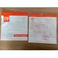3 Side Seal Ziplock Foil Plastic Cloth Bags