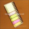 school supply recycled kraft paper sticky notes and memo pads with ruler