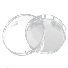 Material de laboratorio Ps Plato de Petri plástico con rejilla