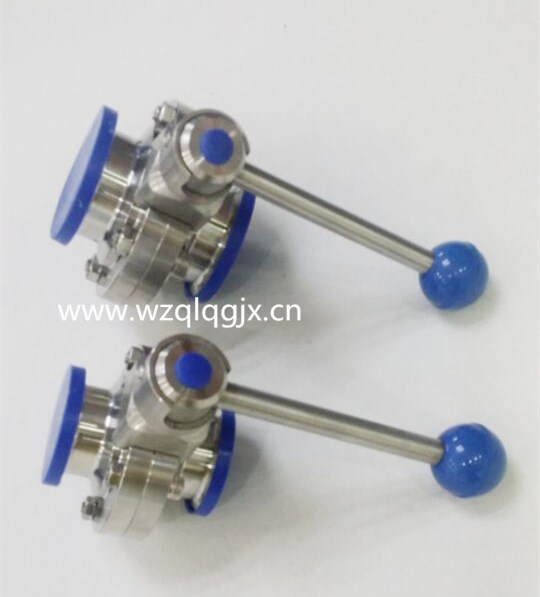 Sanitary Stainless Steel Tri Clamp Butterfly Valves