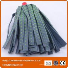 Tête de vadrouille en tissu non tissé colorée et imprimée