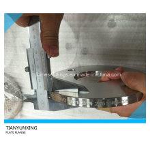 Sans1123 1000/3 bride de plaque en acier inoxydable