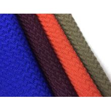 Tissu en jersey uni à bulles de polyester