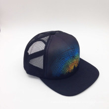 5-Panel Printed Fashion Trucker Cap (ACEW187)