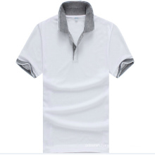 Short Sleeve Men Polo Shirts Mens Golf Patterned Polo Shirts