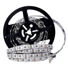 DC12V SMD 5050 RGBW RGBWW 4 en 1 chip led 60Leds / m LED flexible tira llevada