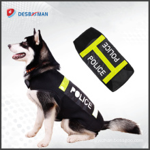 Wholesale custom design High Visible Reflective Elastic Tape reflective dog harness For Pet Clothing