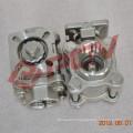 Pneumatic 3pc thread 1/2 inch mini ball valve