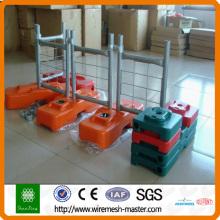 Clôture temporaire revêtue de PVC (directement fabriqué)