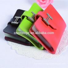 Titular de cartão de crédito de alumínio pvc chique