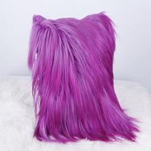 2018 Wholesale Perfect Goat Leather Cushion Cover