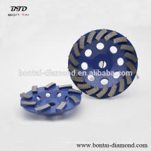 Diamante turbo de la Copa de ruedas de hormigón