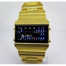 Fábrica de atacado relógio digital novo estilo relógio eletrônico para homens (hl-cd016)
