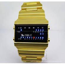 Reloj electrónico de fábrica al por mayor Reloj electrónico de estilo nuevo para hombres (HL-CD016)
