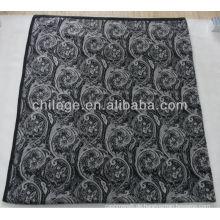 doppelt gedrucktes reines Kaschmir-Strickbett wirft Decken