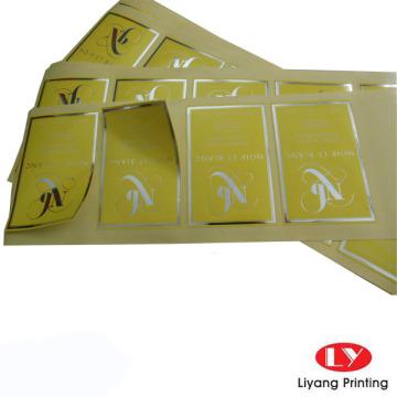 Custom Printing Self Adhesive Sticker Label
