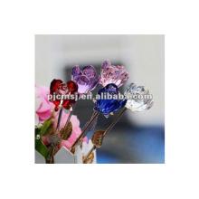 Nouveau rose de cristal de conception unique pour le mariage