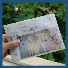 Customized Printing Glassine Paper Envelope (CMG-ENV-016)