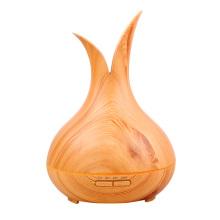 Amazon Blütenblatt Ultraschall Holzmaserung Luftbefeuchter Aroma Diffusor
